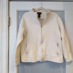 Stephanie Rogers off white Cotton Sweater